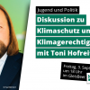 Toni Hofreiter Jugend und Politik NaturFreunde Berlin
