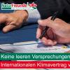 NaturFreunde Deutschlands fordern einen völkerrechtlich verbindlichen Klimaschutzvertrag