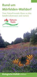 """Titel Flyer Natura Trail """"Rund um Mörfelden-Walldorf"""""""