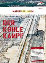 Cover der NATURFREUNDiN 2-15