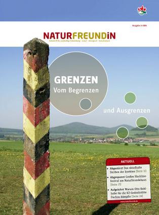 Cover der NATURFREUNDiN 2-16