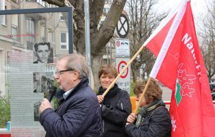Kranzniederlegung für Georg Elser am 9.4.2015