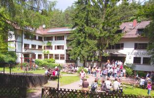 Naturfreundehaus Rahnenhof Außenansicht