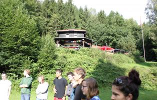 Naturfreundehaus Brombacher Hütte Hausbild