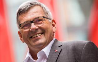 Jörg Hofmann, IG-Metall-Vorsitzender und Mitglied der NaturFreunde