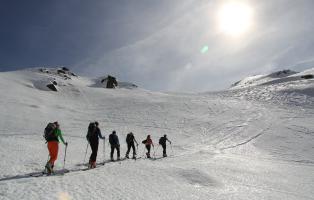 Skitourenwoche 2014
