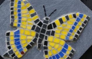 Mosaik: Schwalbenschwanz