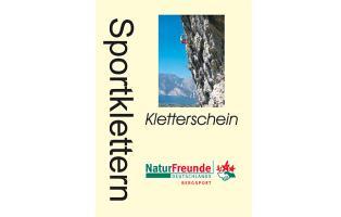 Cover des Kletterscheins der NaturFreunde Deutschlands