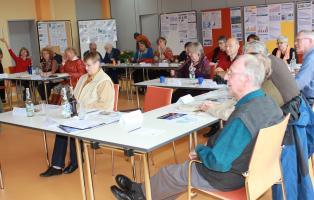 politische Bildung während des Seniorenseminars