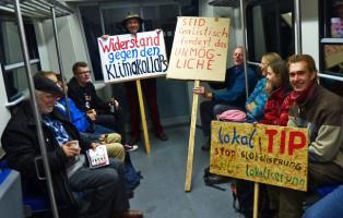 Dalborner Biobauer im Sonderzug zur TTIP-Demo