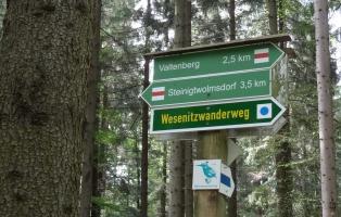Wanderprojekt Wesenitz Tour 1 Wegweiser
