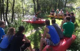 Ausbildungssituation Trainer*in C - Wildwasser