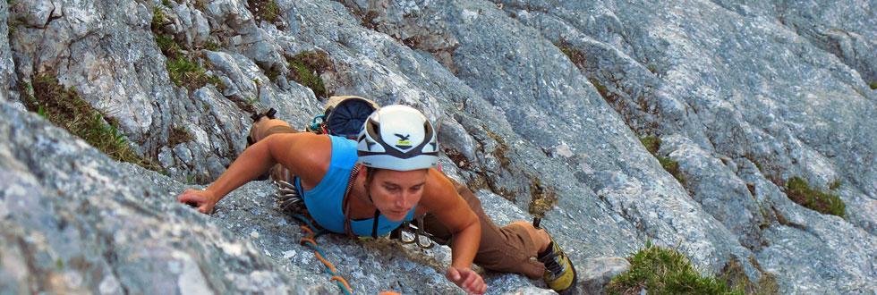 Alpinklettern mit den NaturFreunden