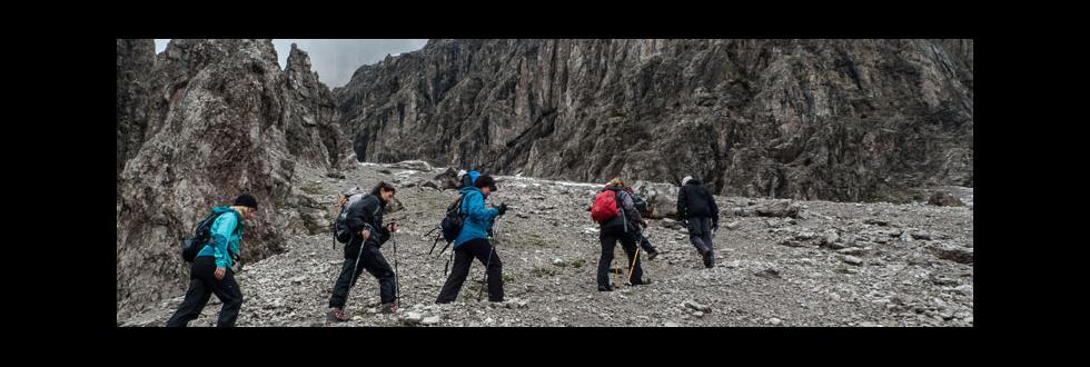 Bergwandern in den Zentralalpen