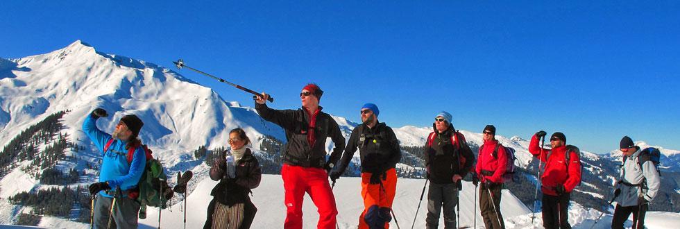 Skitourengruppe der NaturFreunde