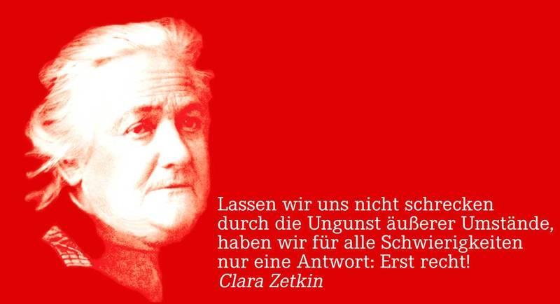 Lesung  Clara Zetkin  Die Kriegsbriefe 1914 U20131933  Band I