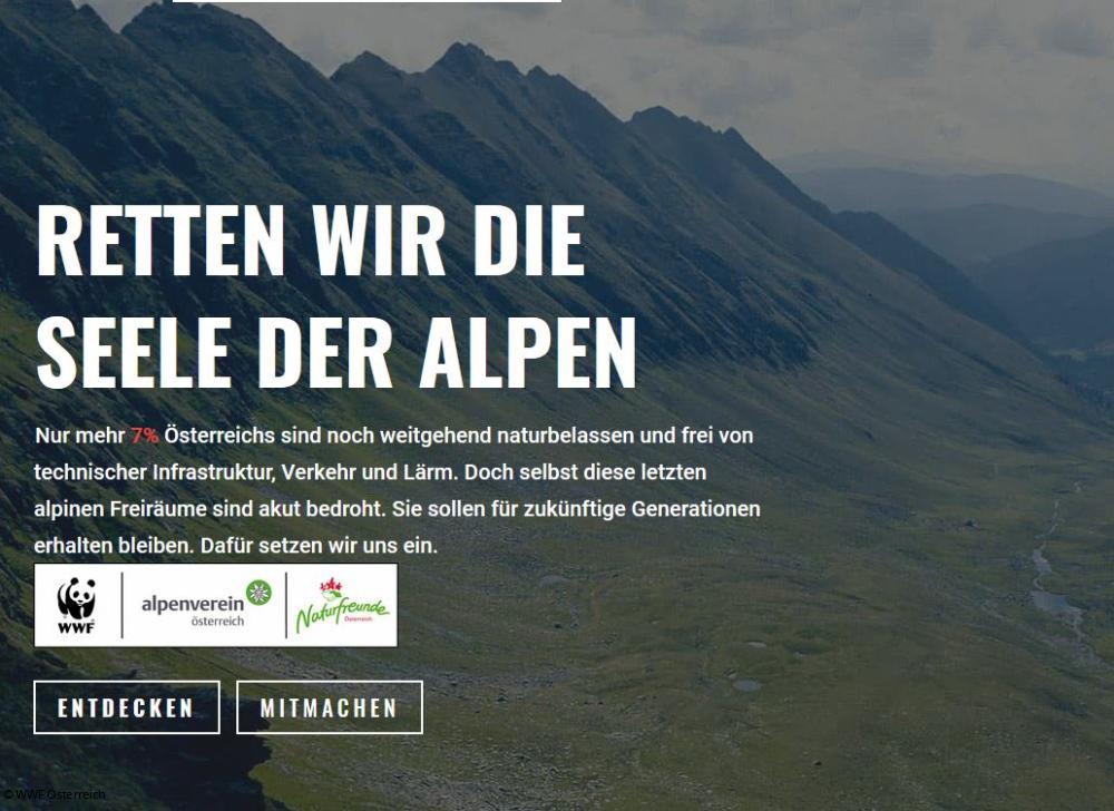 österreichische Allianz Für Die Seele Der Alpen Startet Petition
